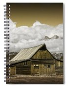 T.a. Moulton Barn In The Grand Tetons Spiral Notebook