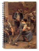 Ta Paye Des Moissonneurs Spiral Notebook