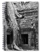 Ta Prohm Roots And Stone 01 Spiral Notebook