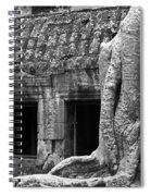 Ta Prohm Roots And Stone 02 Spiral Notebook
