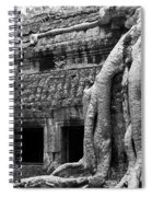 Ta Prohm Roots And Stone 05 Spiral Notebook