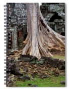 Ta Prohm Temple Ruins Spiral Notebook