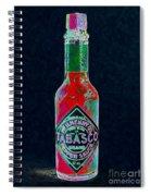 Tabasco Sauce 20130402 Spiral Notebook