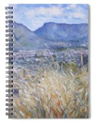 Table Mountain Cape Town South Africa Spiral Notebook