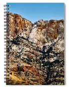 Table Mountain In Winter 42 Spiral Notebook