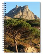 Table Mountain View Spiral Notebook