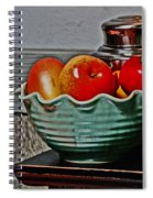 Table Top Fruit Trees Spiral Notebook