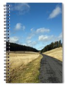 Tableland With Road Spiral Notebook