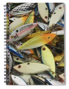 Tackle Box Tangle Spiral Notebook
