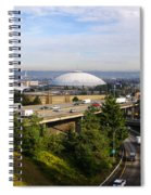 Tacoma Dome And Auto Museum Spiral Notebook