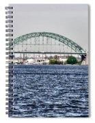 Tacony Bridge Spiral Notebook