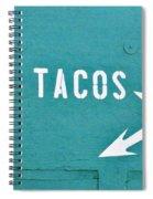 Tacos Spiral Notebook