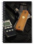 Tactical Gear - Gun  Spiral Notebook