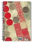 Tadco Farm Saudi Arabia Satellite Spiral Notebook