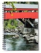 Taftsville Covered Bridge Vermont Spiral Notebook