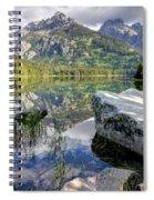 Taggart Lake  Grand Teton National Park Spiral Notebook