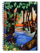 Tahiti Window Spiral Notebook