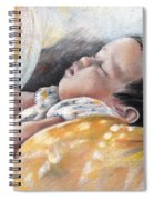 Tahitian Baby Spiral Notebook