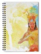 Tahitian Dancer Spiral Notebook