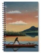 Tahitian Morning Spiral Notebook