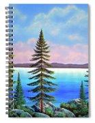 Tahoe Pines Spiral Notebook