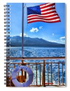Tahoe Queen Lake Tahoe By Diana Sainz Spiral Notebook