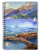 Tahoe Tides Spiral Notebook