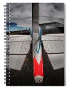 Tail Clouds Spiral Notebook