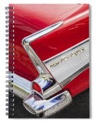 Tail Fins Are In 1957 Chevy Spiral Notebook