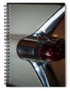 Tail Light Spiral Notebook