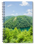 Tail Of The Dragon Scenic Road In Great Smoky Mountains Spiral Notebook