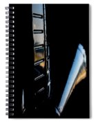 Tail Reflection Spiral Notebook