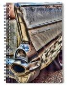 Taillight 1957 Chevy Bel Air Spiral Notebook