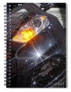 Dodge Headlight Spiral Notebook