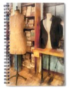 Tailor - A Pair Of Dummies Spiral Notebook