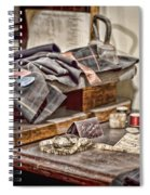 Tailors Work Bench Spiral Notebook