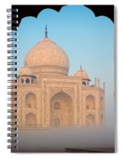 Taj Mahal Dawn Spiral Notebook