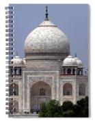 Taj Mahal - Agra - India  Spiral Notebook