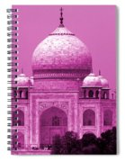 Pink Taj Mahal, Agra, India Spiral Notebook