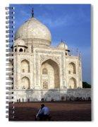 Taj Mahal Love Spiral Notebook