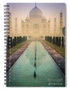 Taj Mahal Predawn Spiral Notebook