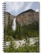 Takakkaw Falls Spiral Notebook