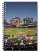 Take Me Out To The Ballgame Spiral Notebook