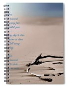 Take Me To The Ocean Blue Spiral Notebook