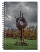Take Me To Your Leader Spiral Notebook