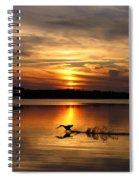 Take Off Forge Pond Spiral Notebook