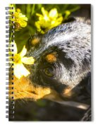 Take Time To Smell The Flowers Spiral Notebook