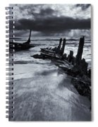 Taken By The Sea Spiral Notebook
