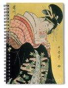 Takigawa From The Tea House Ogi Spiral Notebook