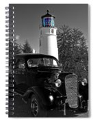 Taking A Drive Spiral Notebook